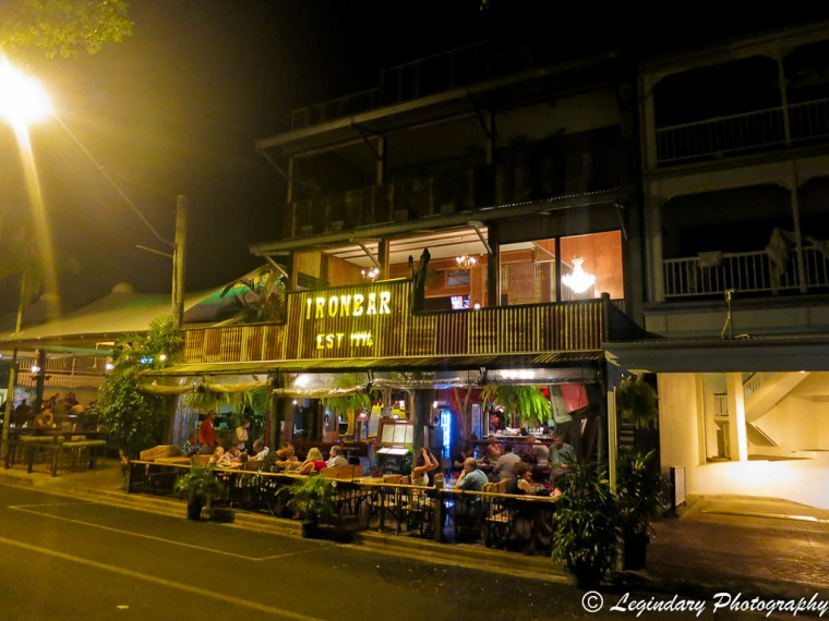 Iron Bar Steakhouse at 5 Macrossan Street, Port Douglas