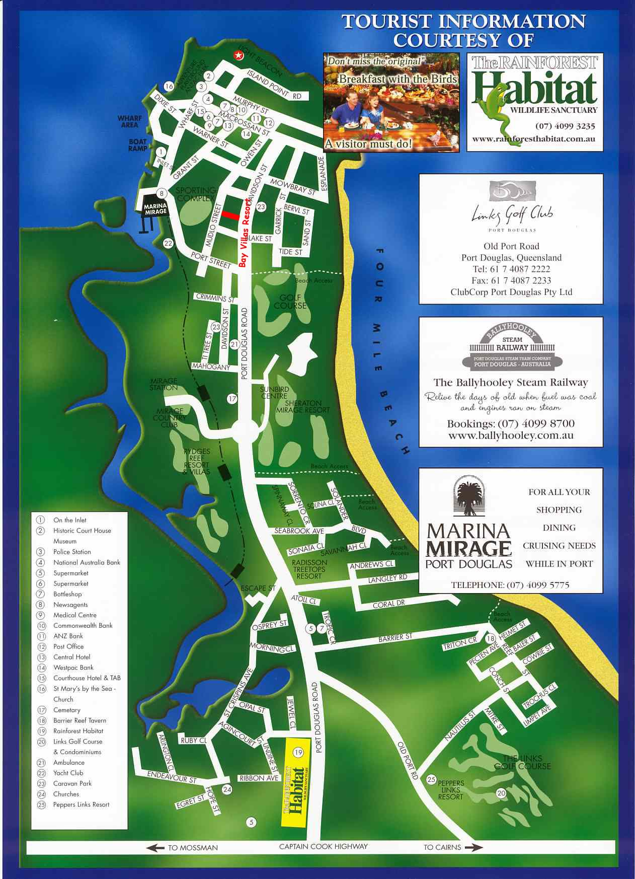 Map Of Port Douglas Travelling to Paradise: The Hidden Gems Awaiting You At Port