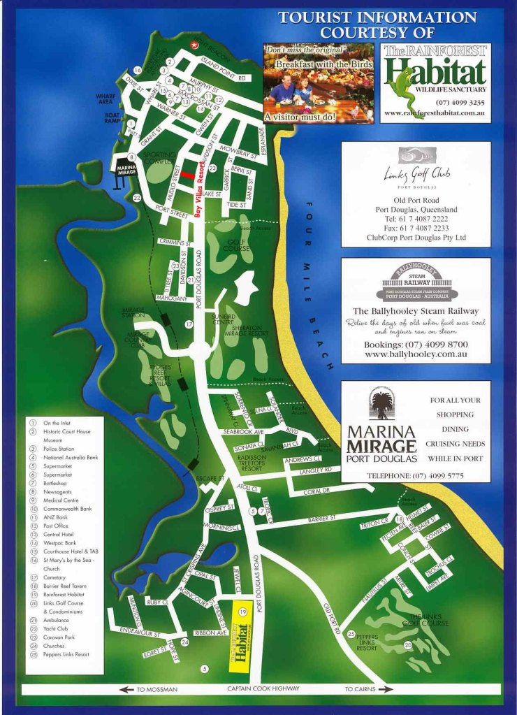 Port Douglas Map
