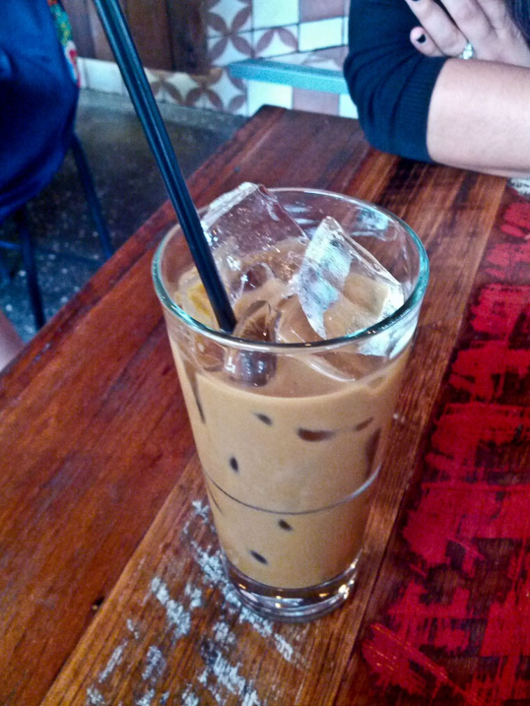 Malaysian Coffee (with condensed milk)