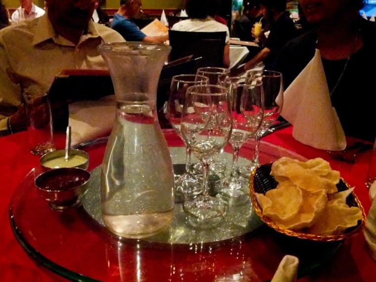 Aashiana Table Setup