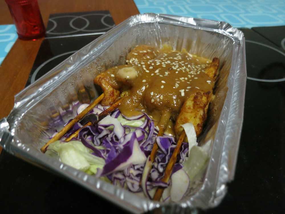 Satay Chicken Skewers - the deliciousness