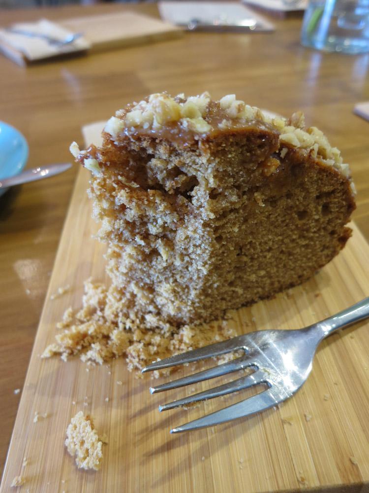 Caramel Cake Close Up