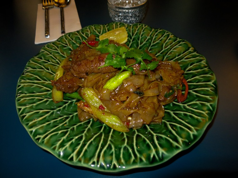 Pok Pok Spicy Drunken Noodles with Beef