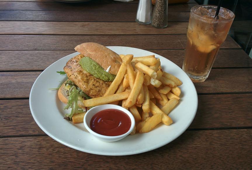 Chicken Cajun Burger