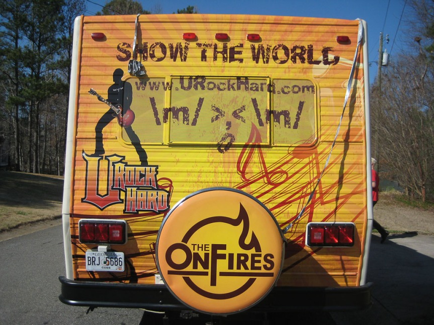 The OnFires on tour