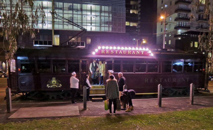 Colonial Tram Car