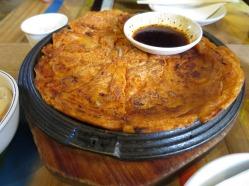 Kimchi Pancakes 2